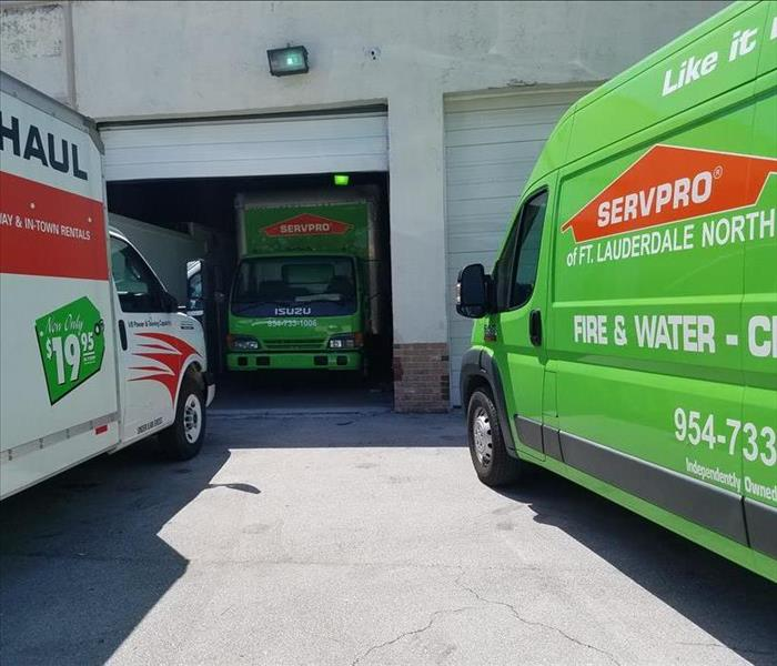 Storm Damage SERVPRO Helping Houston