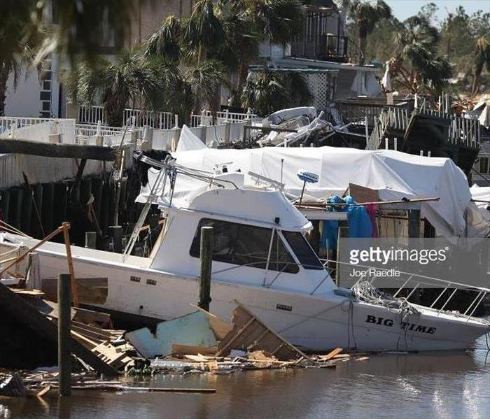 Water Damage Boat & Yacht Water Damage 2018: Hurricane Michael